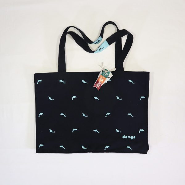 Danga Dolphins Big Bag organic cotton